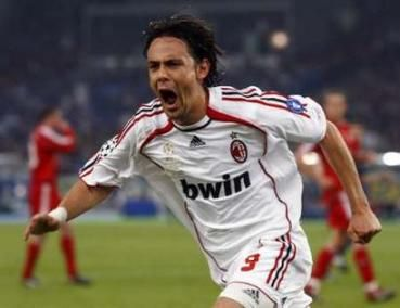 Inzaghi. Predictable prick.