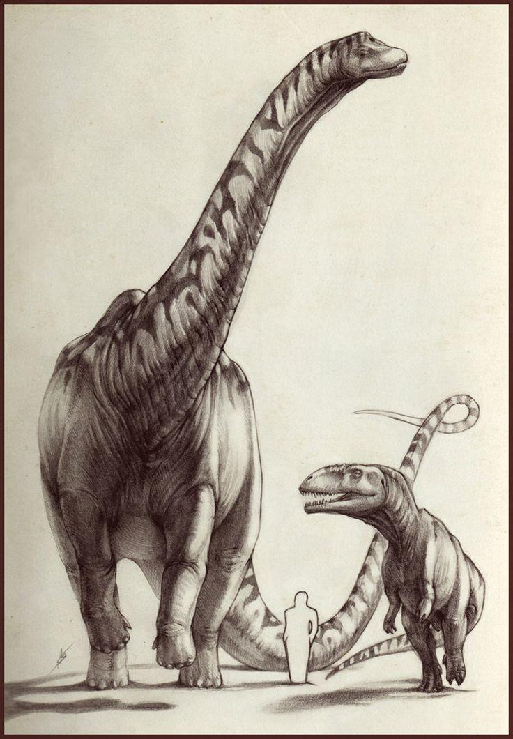 Argentinosaurus & Giganotosaurus - Giants of Argentina by ...