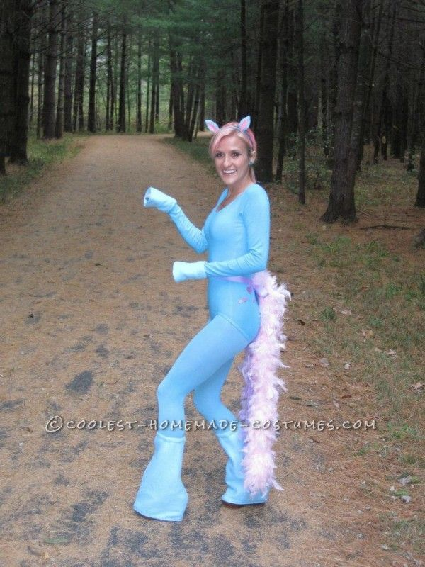 cute homemade my little pony costume - Halloween My Picture
