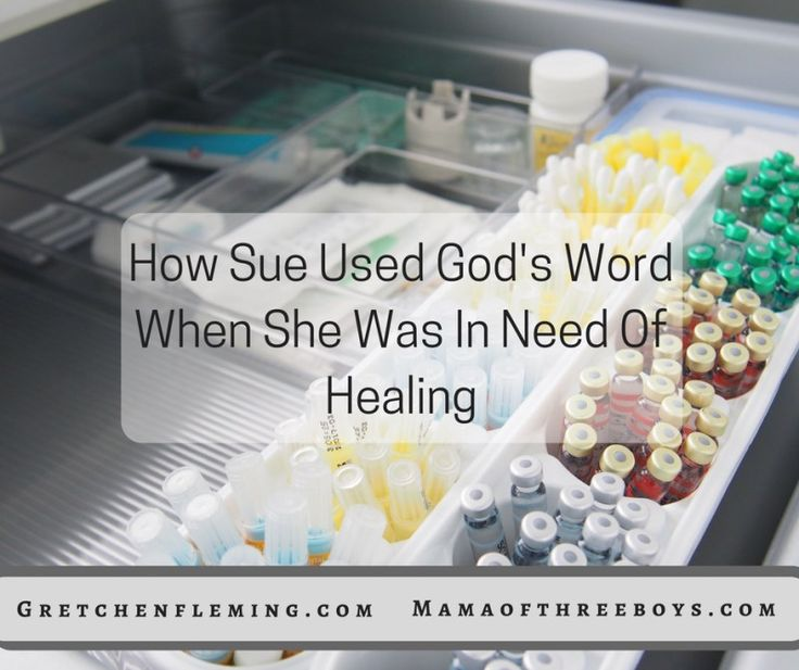 Scriptures to read while praying for healing