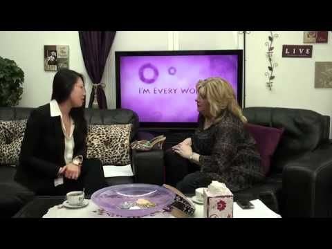 "March 26, 2014  I'm Every Woman! TV presents ""What is Your Day at the Mall Really Costing You?"" Women & Finance with Stacey He, Financial Planner to Busy Career Women, The Savvy Woman"