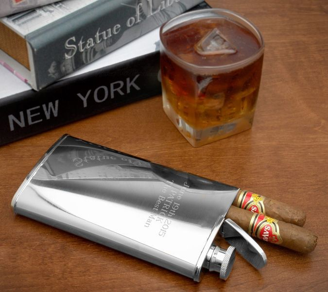 The Cigar Holder Hip Flask Lets You Celebrate Wherever You Are http://coolpile.com/gear-magazine/cigar-holder-hip-flask-lets-celebrate/ via @CoolPile.com $28