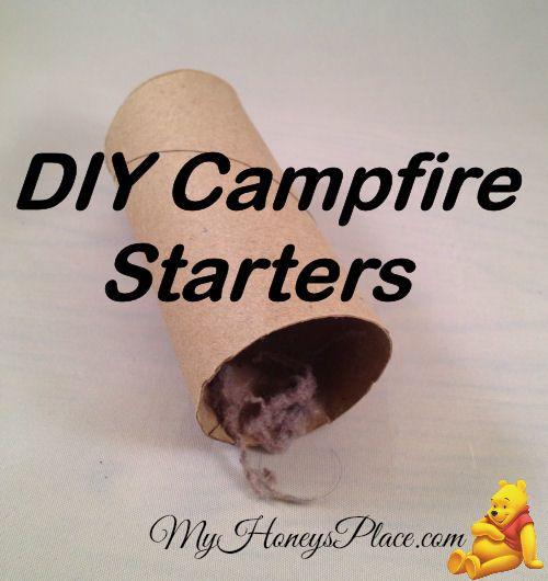DIY Campfire Starters