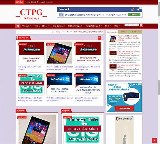 _CTPG_: Template Blogspot - Template Trần Bá Đạt (_CTPG_) ...
