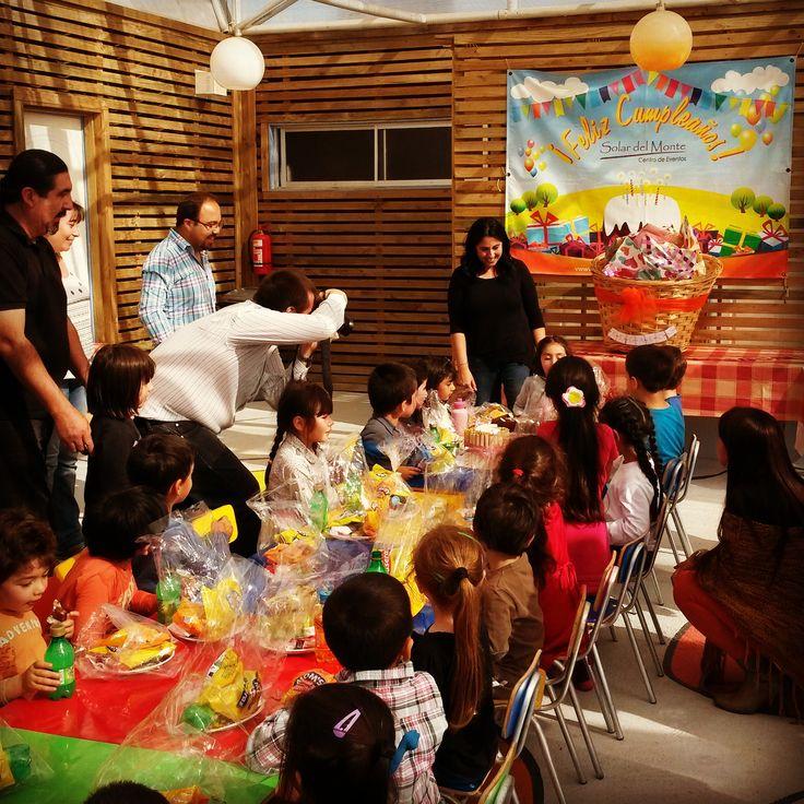 Cumpleaños de niños. Ven a celebrar las mejor fiesta de cumpleaños para tus hijos. www.solardelmonte.cl