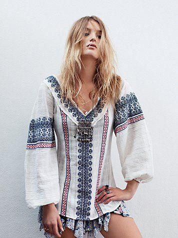 All Roads Embroidery Double V Tunic. http://www.freepeople.com/whats-new/all-roads-embroidery-double-v-tunic/_/productOptionIDS/B943893F-0B54-441E-B1C3-AF4AA76FC1D1