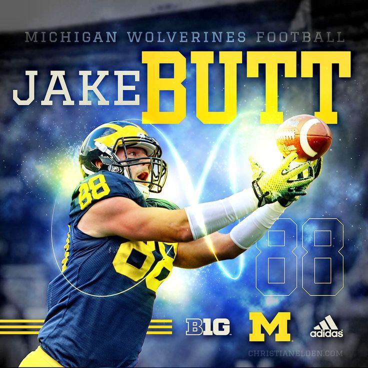 University of Michigan TE Jake Butt