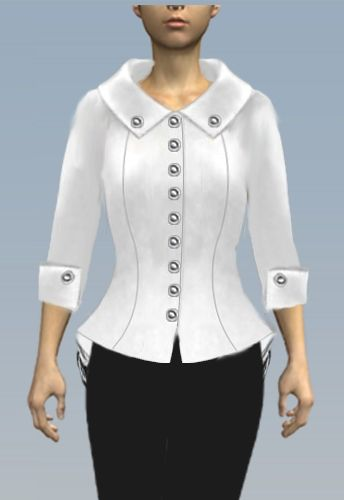 Retro Jacket by Amber Middaugh