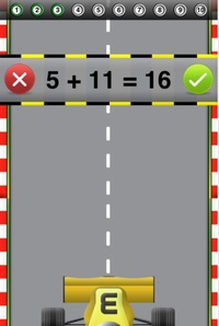 Good Free App of the Day: Math Bingo Games - A Racing Game for Kids by Tap To Learn