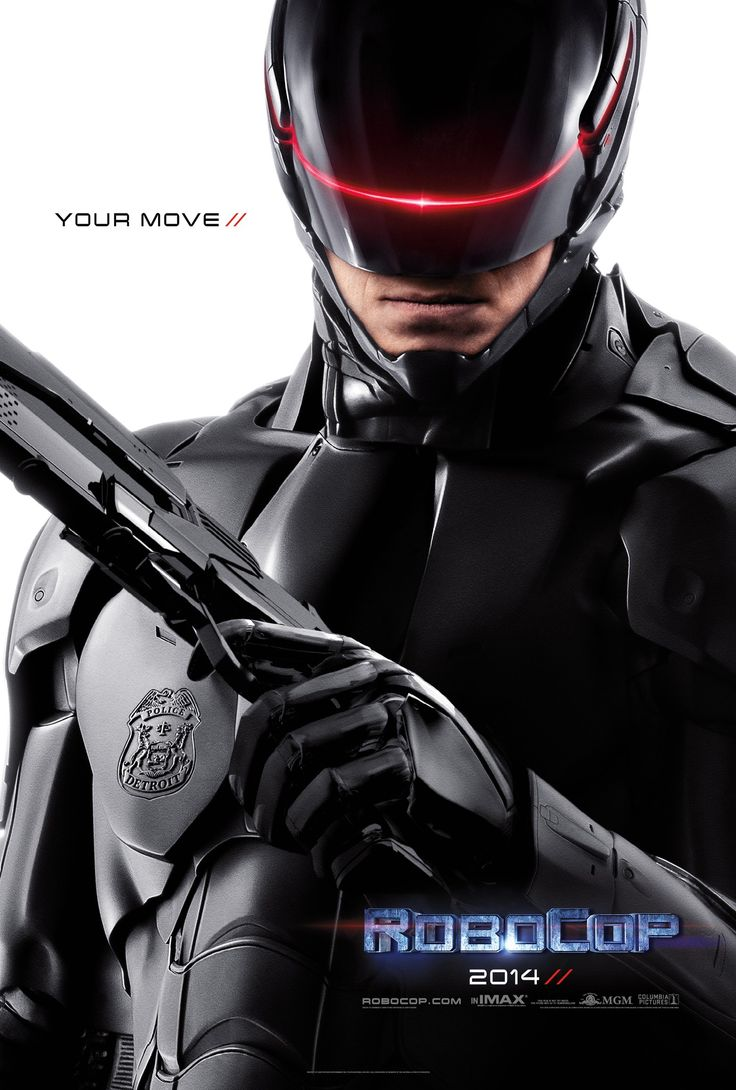 First official poster for RoboCop. Your move creeps.