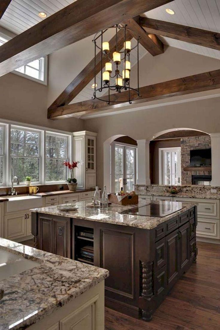 Gorgeous farmhouse kitchen cabinets makeover ideas (12)