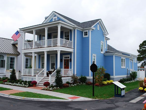 I love american style homes great beach home in norfolk for Great american homes
