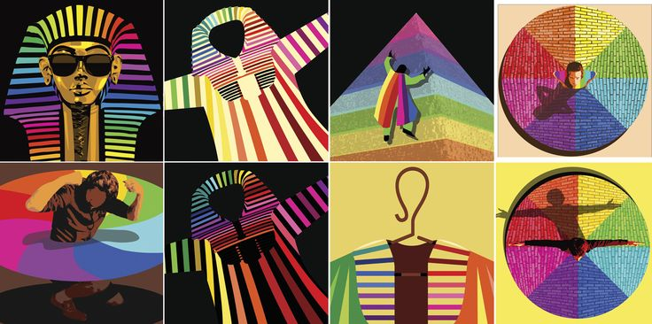 Joseph and the Amazing technicolor dream coat | daniel_hertzberg_joseph_and_the_amazing_technicolor_dreamcoat_sketches