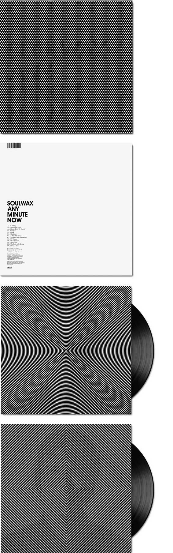 Soulwax / Any Minute Now | scroll to view #design