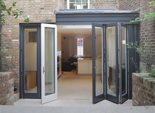 Bringing the outside in with bi-folding doors. Fabulous ...