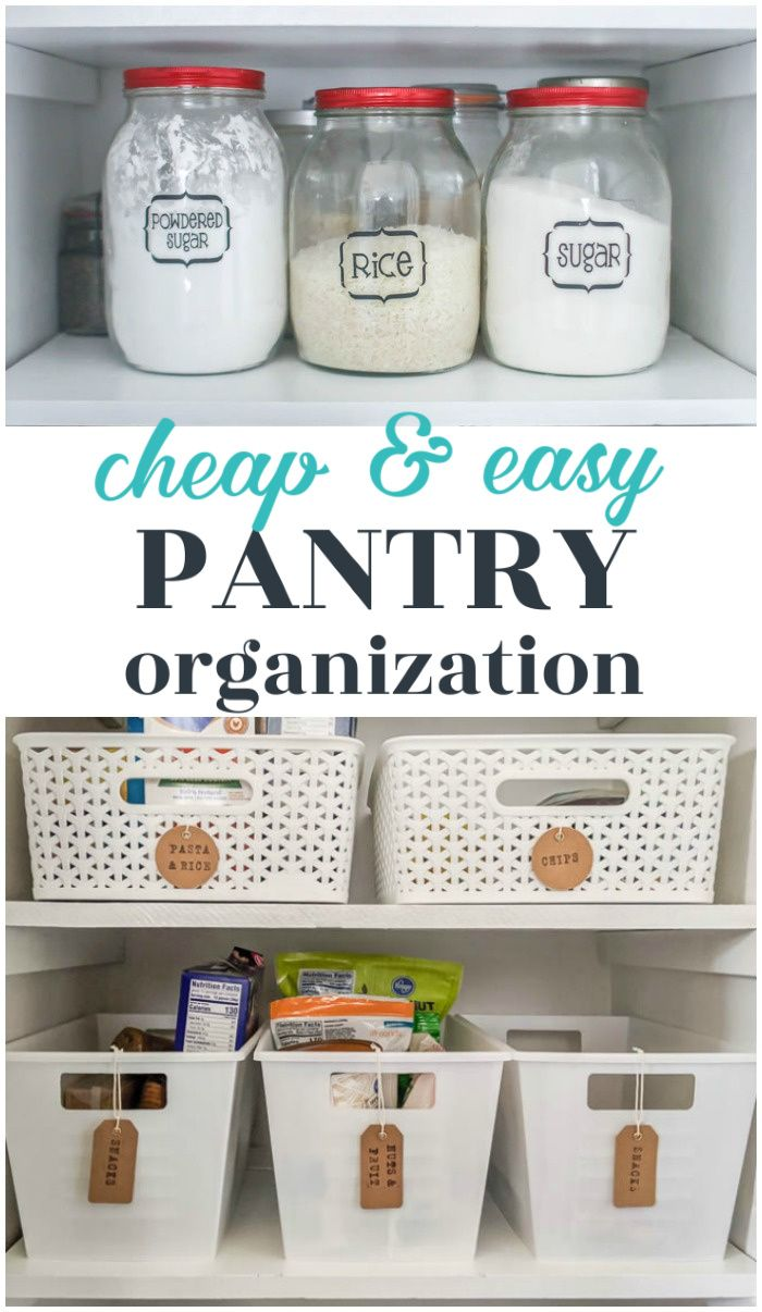 Small Pantry Makeover Full Of Inexpensive Organization Pantry Makeover Pantry Organization Small Pantry Organization