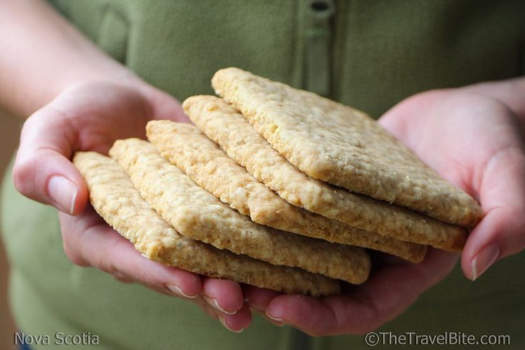 Nova Scotia Oatcakes  Recipe:  http://thetravelbite.com/destinations/nova-scotia-oatcakes/