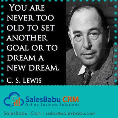 Without #GOAL, there is no movement. Neither in life nor anywhere...  http://www.salesbabu.com/crm/sales-force-automation-crm-software/