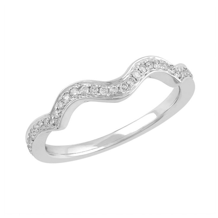 Love by Michelle 18ct White Gold 0.17ct Diamond Ring. Available in stores or online - 9B80007