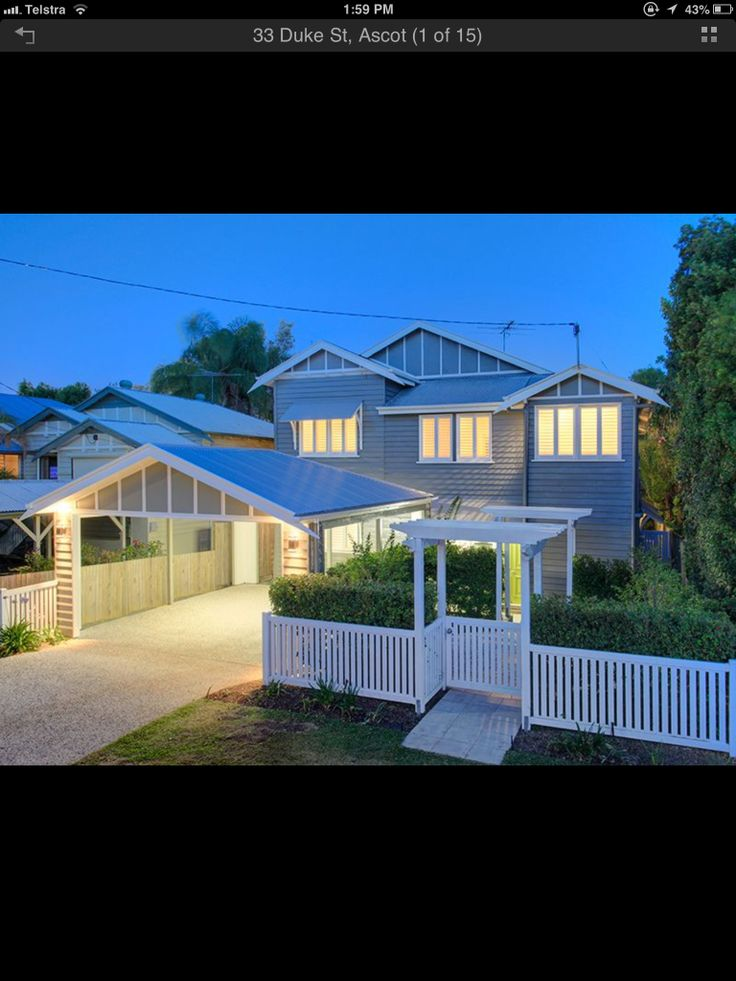 1129 best images about australian houses on pinterest for Garage fence