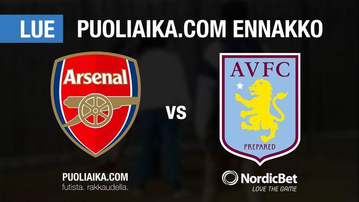 Puoliaika.com ennakko: Arsenal - Aston Villa   Arsenal tähyää Eurooppaan oikeuttaville sijoille, kun vierailija Aston Villa koittaa nousta pois sarjataulukon häntäpäästä.  Arsenal lä... http://puoliaika.com/puoliaika-com-ennakko-arsenal-aston-villa/ ( #arsenalastonvillaennakko #arsenalennakko #arsenalvetovinkit #Valioliiga #valioliigafi #vedonlyöntivihjeet)