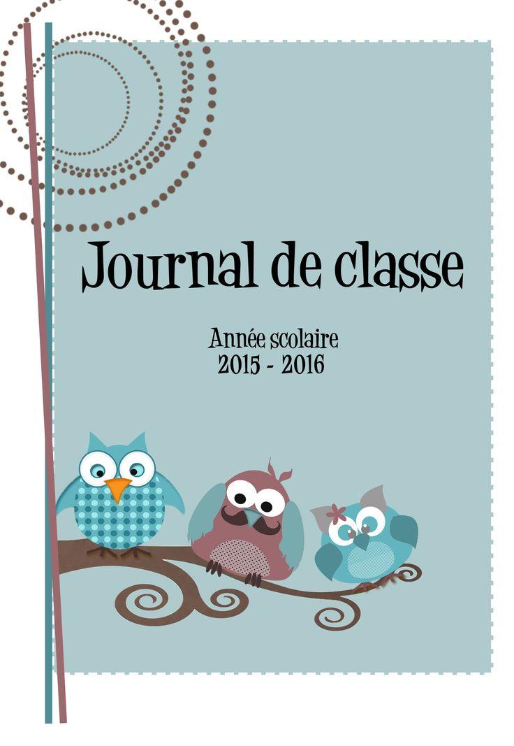 journal de classe enseignant