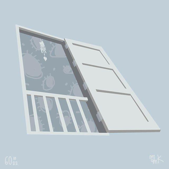 it always open .. #illustration #art #windows #perspective