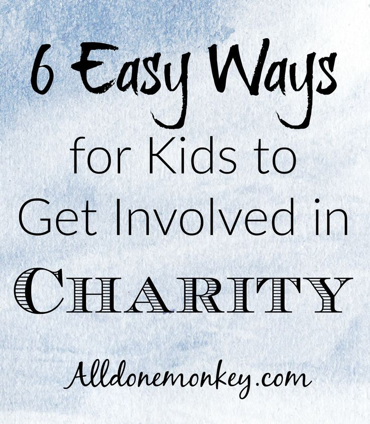 Teaching children to give back is essential to raising the next generation of world movers. Here are six easy ways to get kids involved in charity. #ChainOfBetters #ad