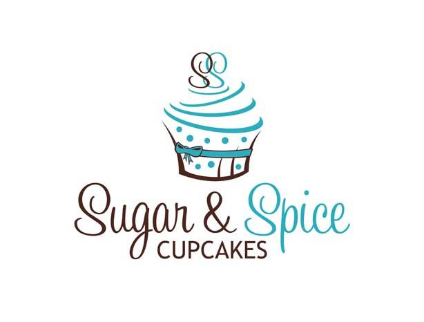 Sugar Spice Cupcakes Logo Design By Start Your Own Contest And Get Amazing Custom Logos Submitted Our Designers From All Over The