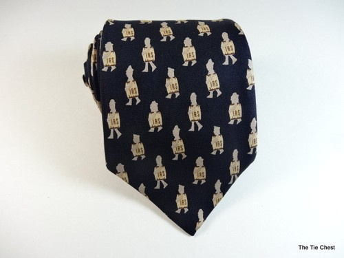 Done your taxes yet? Unusual IRS tie from Alynn. A cool find from www.thetiechest.com. $39.99 | See more about Ties.