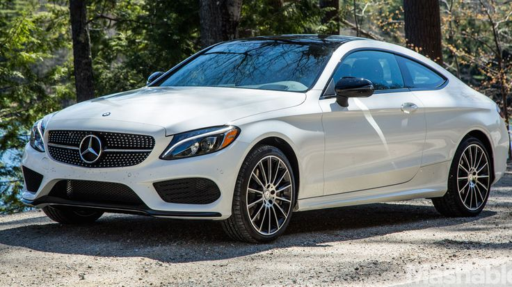 The exceptionally stylish 2017 Mercedes C300 Coupe demands attention