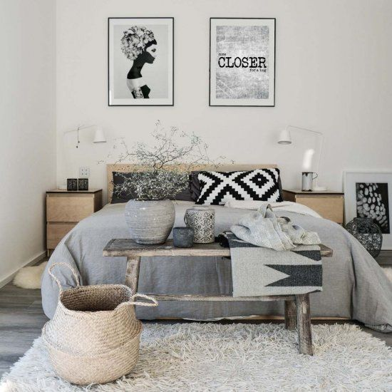 45 Scandinavian bedroom ideas that are modern and stylish! (Image Courtesy of Mx|Living)