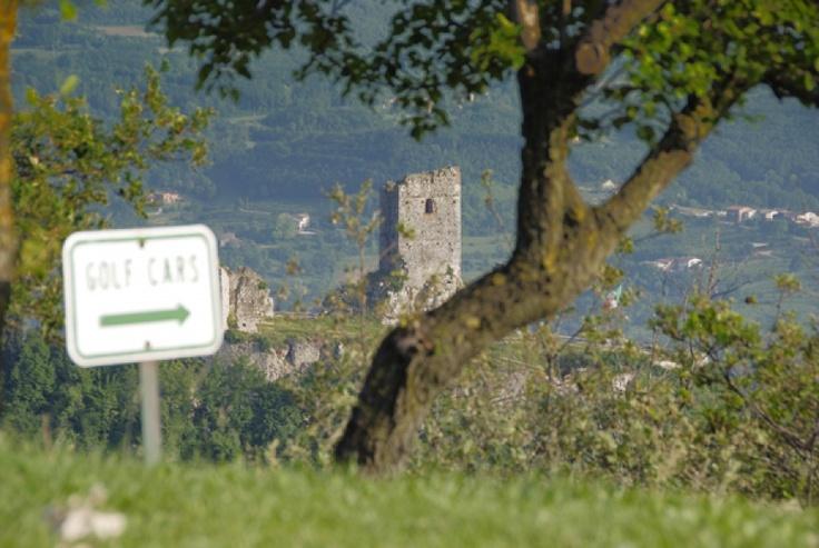 Il castello di Brendola.