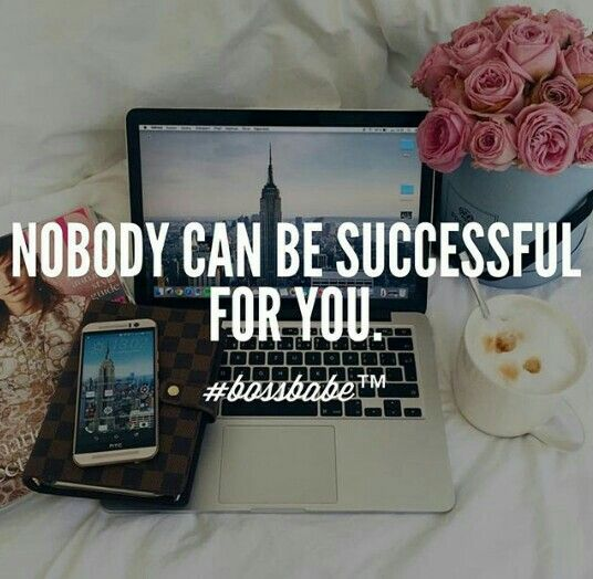 No one can do it for you
