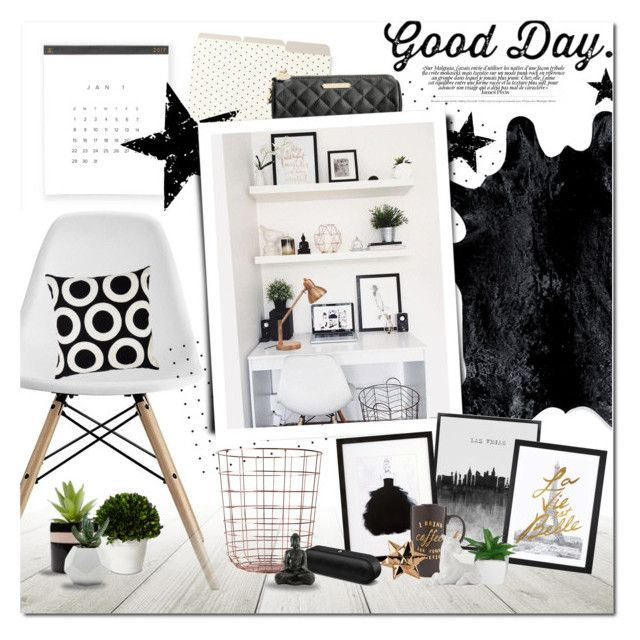 Good Day. by justlovedesign on Polyvore featuring interior, interiors, interior design, home, home decor, interior decorating, Dorel, Design Within Reach, iCanvas and V Rugs & Home