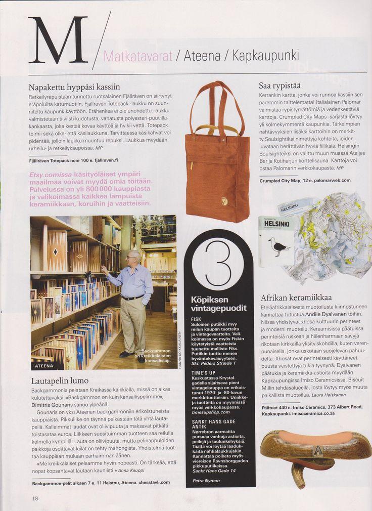 Imiso Ceramics Mondo May 2012
