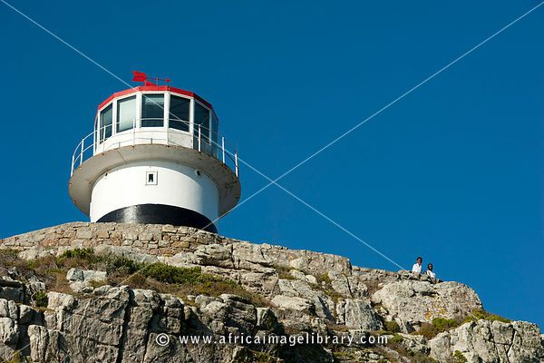Cape Point Lighthouse, Cape of Good Hope Nature Reserve, Cape Peninsula, South Africa