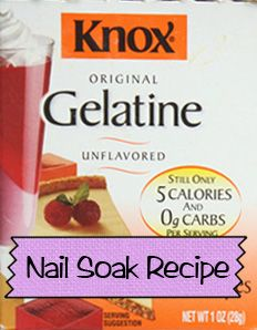 DIY Nail Soak Recipe For Strong, Healthy Nails