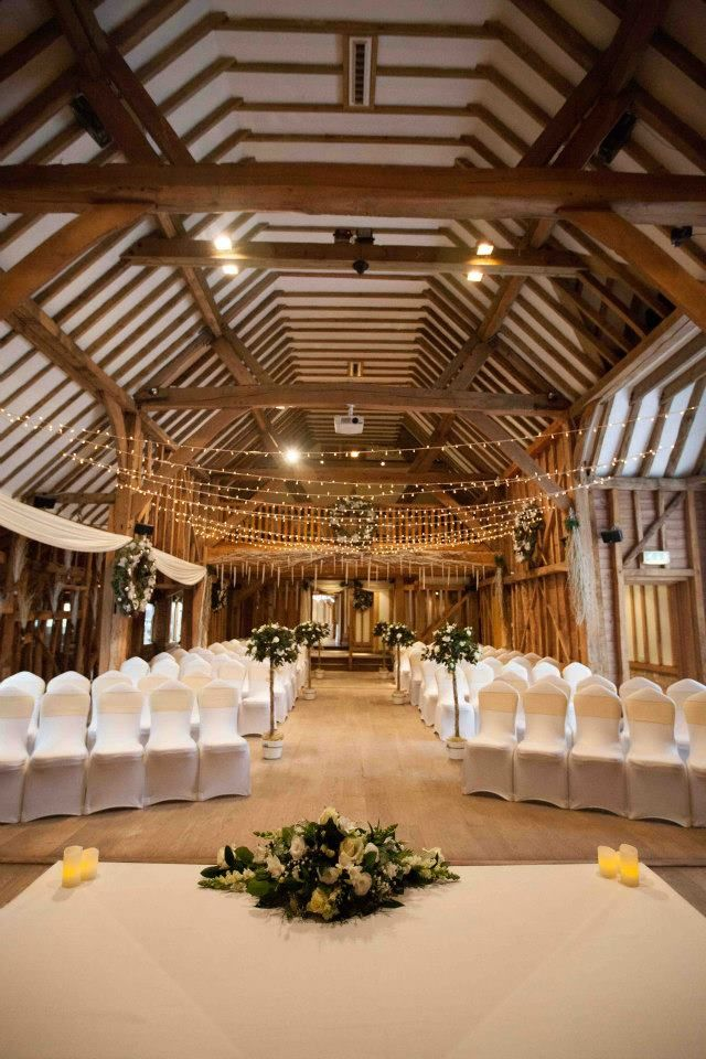 Ceremony with Fairy Lights