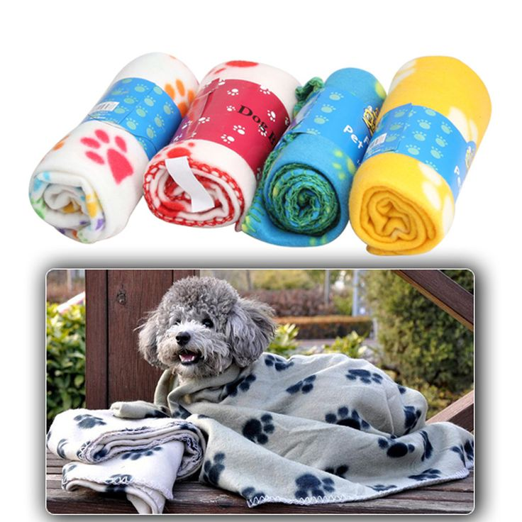 Soft Cozy Dog Paw Prints Handcrafted Pet Fleece Blanket Cotton Warm Pet Mat Dog Cat Cover for Puppy 60x70cm #>=#>=#>=#>=#> Click on the pin to check out discount price, color, size, shipping, etc. Save and like it!
