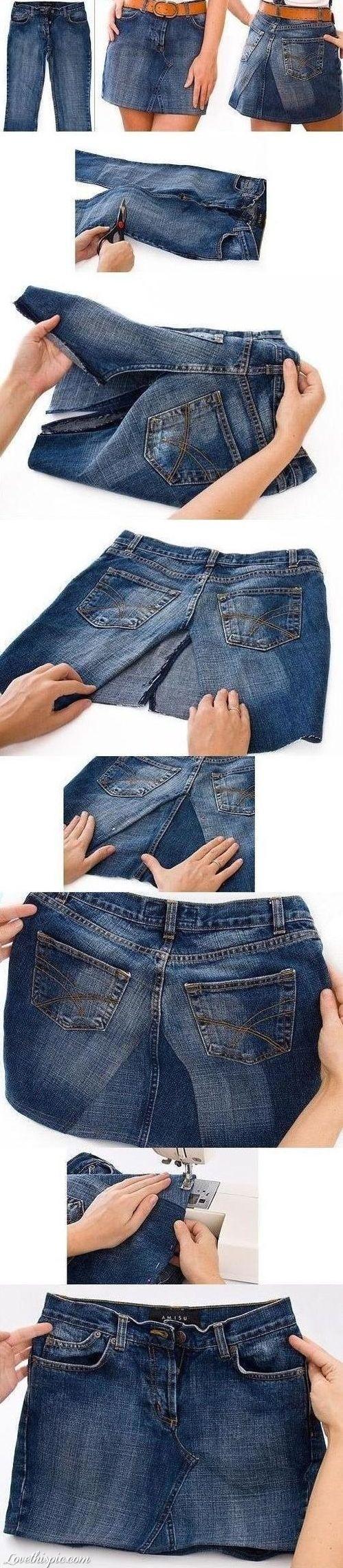 Van broek naar rok.