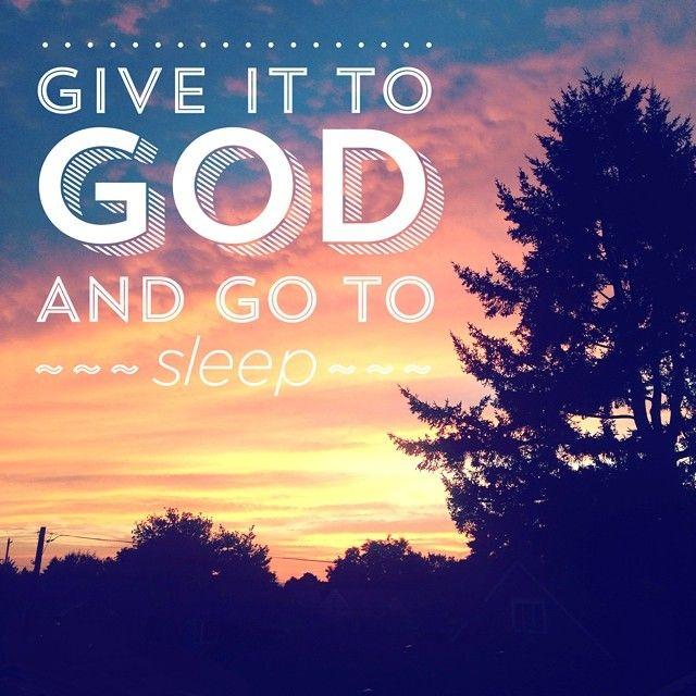 tiethatbindsweddings's photo on Instagram - Give it to God and go to sleep meme  - custom illustration from www.tiethatbindsweddings.com