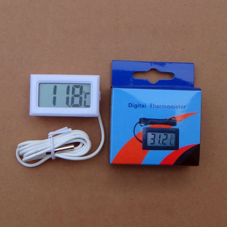 Degree -50~110 Thermometer Thermograph Digital LCD Probe Fridge Freezer for Refrigerator Temperature Measurement D12