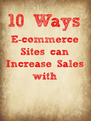 Pinterest Marketing: 10 Ways to Increase E-commerc Sales with Pinterest by Vincent Ng of MCNGmarketing.com