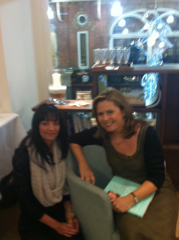 Relationship with Liz Earle; seen here at the Leeds store opening event