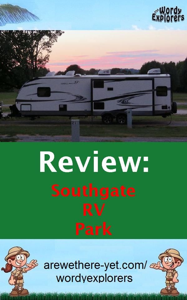 Review Southgate Rv Park The Wordy Explorers Rv Parks Camping New Zealand Campground Reviews