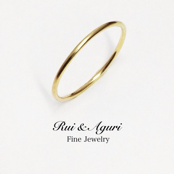 Just finished! Very thin yellow gold 18K band! Fantastic for gift always & wedding band for lovers who love thin rings! Thanks for ordering! One for Tokyo Thanks! また完成ですよね!とっても細身なゴールドリング!大切な方へ、そしてご自身へのプレゼント!はもちろん、とても細い指輪がお好みのお二人へのご結婚指輪としてこちらも世界中で楽しまれているルイ&アグリファインジュエリーの定番ですよね。今回は日本のお客様でしたね!ご依頼本当にありがとうございました