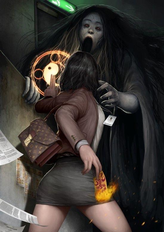 Spirit attacks - brandende gebedspapiertjes
