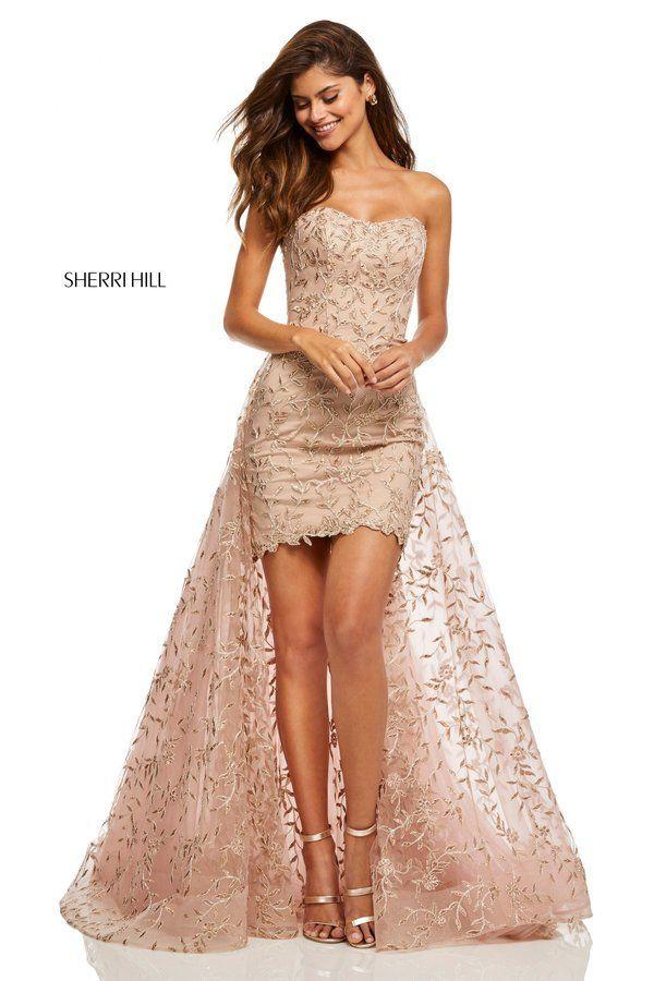 87ca1f7e03d Sherri Hill Style 52648. Sherri Hill Style 52648 Strapless Prom Dresses ...