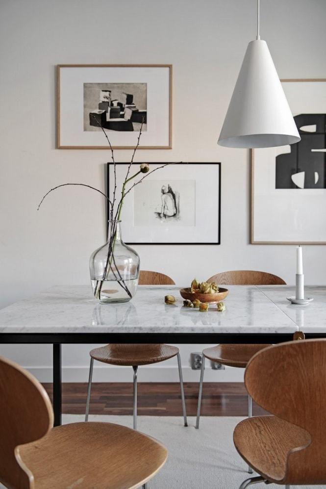 Mesa Sillas Home Con The Comedor De Y Mármol DiseñoFor 0wNOPXkZ8n